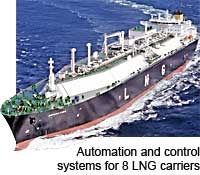 Kongsberg to deliver automation and control systems for eight LNG carriers