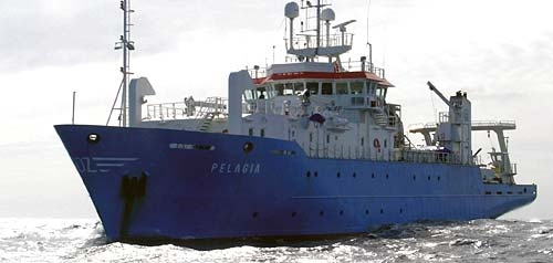 The Royal NIOZ Research Vessel Pelagia