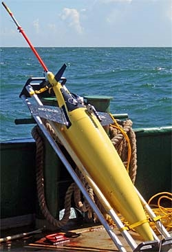 Seaglider low-cost long endurance AUV