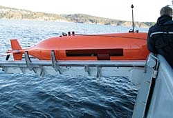 The Hugin 1000 AUV