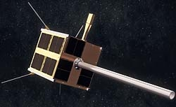 The AIS satellite