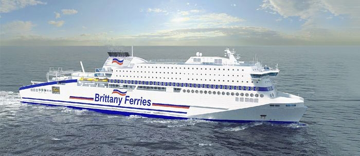 KONGSBERG Wins EPCI Contract for Newbuild LNG Fuelled RoPax Ferry