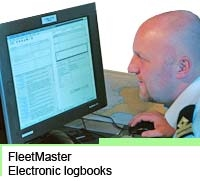 FleetMaster electronic logbooks