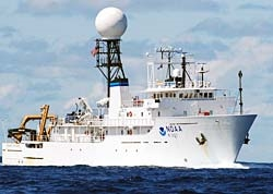 Okeanos Explorer. Photo Courtesy NOAA