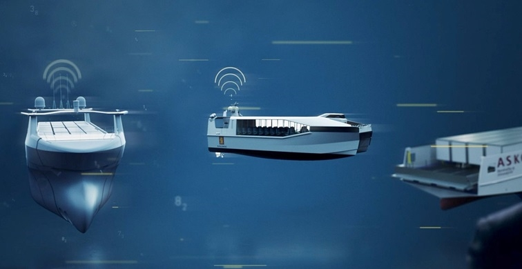 How unmanned ships will likely be designed and operated in the future.