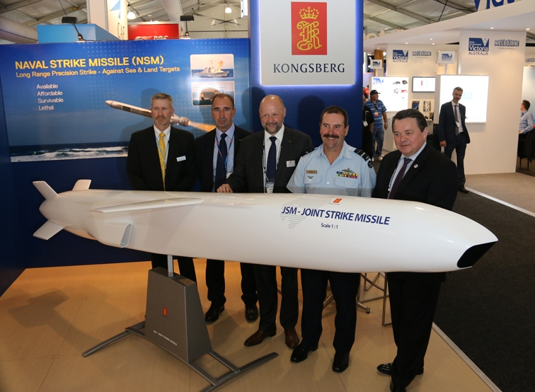 KONGSBERG signs contract with Australia to integrate new