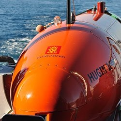 Higin AUV ready to launch