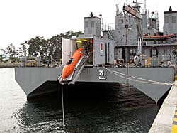 HUGIN 1000 Portable AUV System on ROK Navy Ship