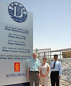 KM Training centre in UAE, represented by Anne Toril Kasin from KM, Mr. Kumar from Unique, was approved by Nautical Institute and Mr. Ian Giddings