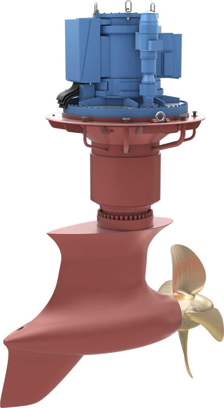 Azipull thruster - Kongsberg Maritime