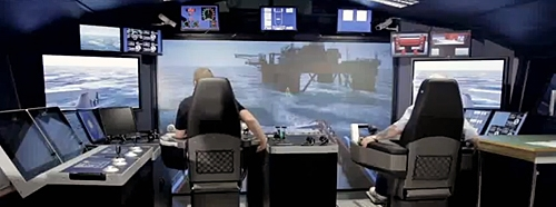 Oceanografia selects KONGSBERG's Offshore Vessel Simulators for Mexico's first offshore training center
