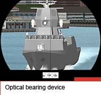 Optical bearing device