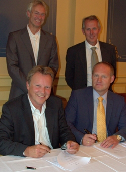 Signing Odfjell Consulting and KONGSBERG