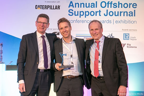 Offshore Support Journal Award ceremony