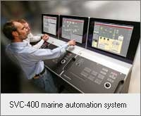 SVC-400 marine automation system