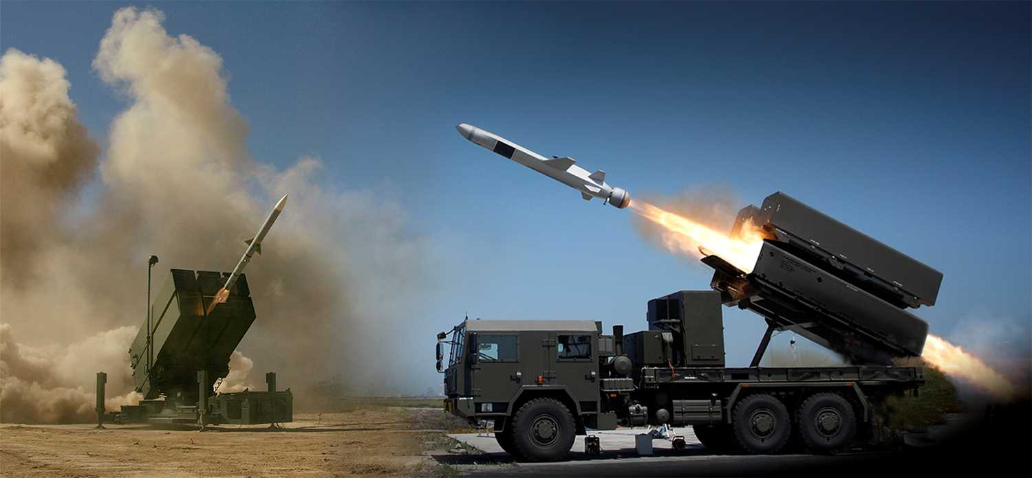Integrated air and missile defence - KONGSBERG Defence and Aerospace