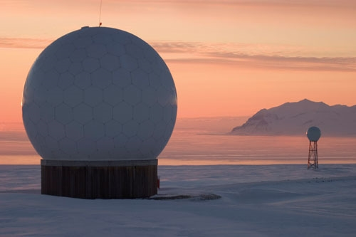 Kongsberg Satellite Services ground station Svalbard