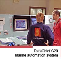 DataChief C20 marine automation system