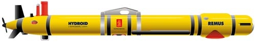 Remus 600-S autonomous underwater vehicle