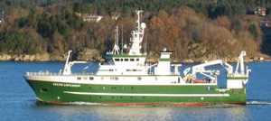 Research vessel Celtic Explorer