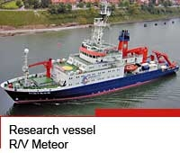 Research vessel R/V Meteor