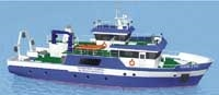 27 metre metre  vessel for coastal continental shelf studiesl